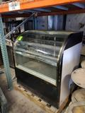 Royal Store Fixtures Curved Glass Case