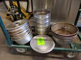Assorted Cake Pans and Round Trays