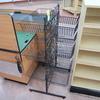 wire basket merchandiser