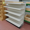 Lozier wall shelving, 4' one-sided