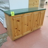 counter w/ cabinets under