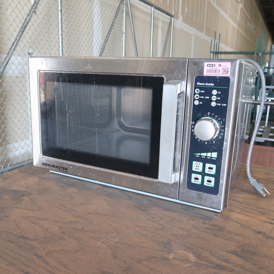 Menumaster Commercial microwave oven