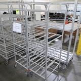 aluminum tray racks