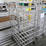 aluminum tray rack