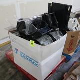 crate of Durapod reach-in bulk bins