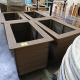 outdoor bins or planter covers