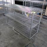 wire shelving unit