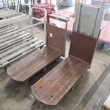 low flat carts, steel