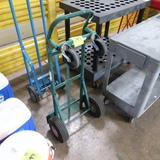 2-wheeled hand truck w/ pneumatic tires