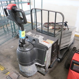 Barrett electric pallet jack, w/ 3) chargers
