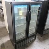 True two-glass door cooler