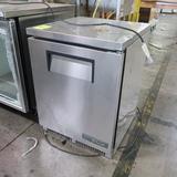 True stainless undercounter refrigerator
