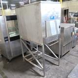 Howe ice bin, on stand