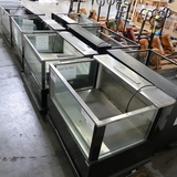 CSC refrigerated merchandisers w/ 3) glass sides
