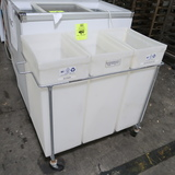 ingredients bins, 3-compartment