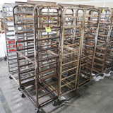 aluminum oven racks, side load