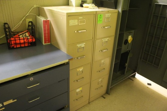 4-Drawer File Cabinets