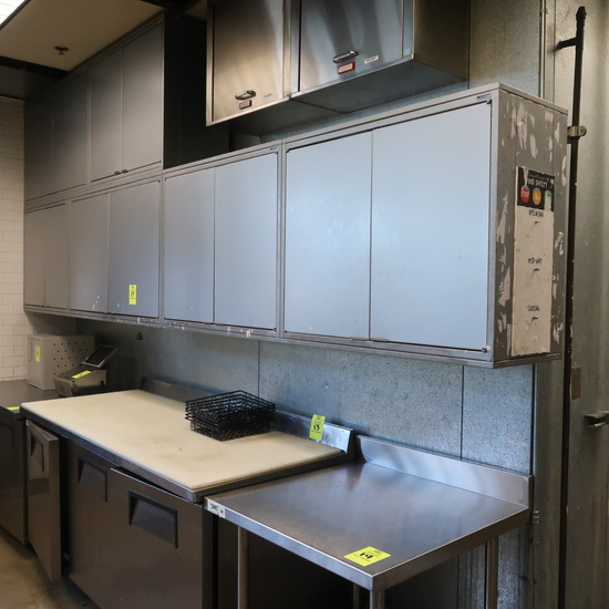 Royston steel wall cabinets