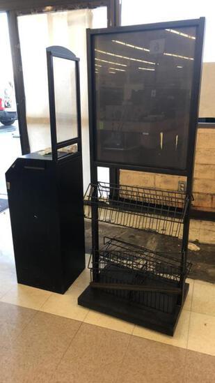 Sanitizing Wipe Station And Merchandiser
