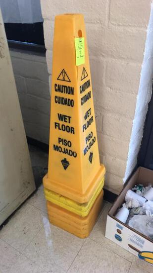 Wet Floor Cones