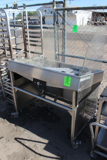 Face To Face Portable Stainless Fish Merchandiser