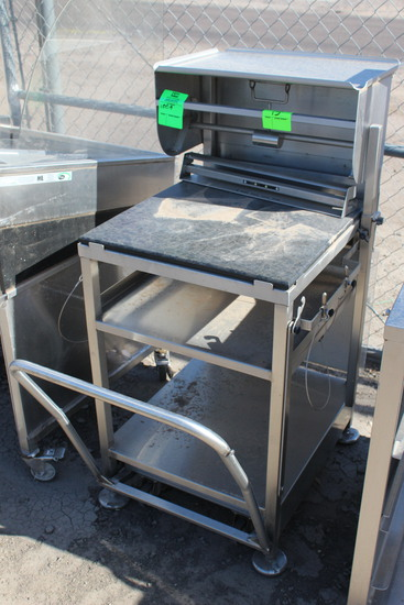 Face To Face Portable Stainless Equipment Stand