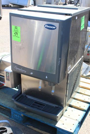 2016 Follett Symphony Plus Water & Ice Dispenser
