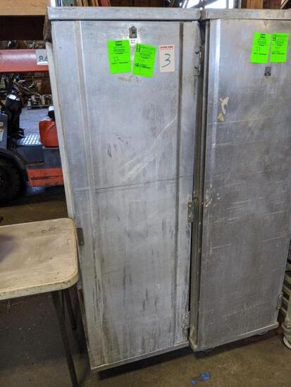 Enclosed transport cabinet