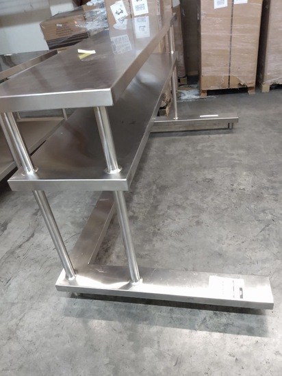 Stainless Table Expediting Station