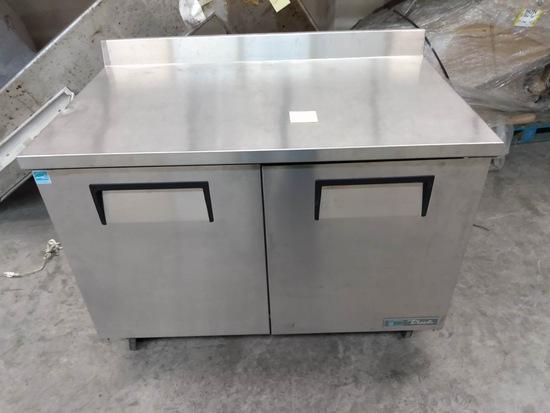 (New) True 4' Worktop Stainless Freezer