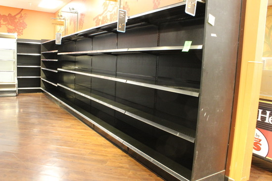 27' Of Lozier Wall Shelving
