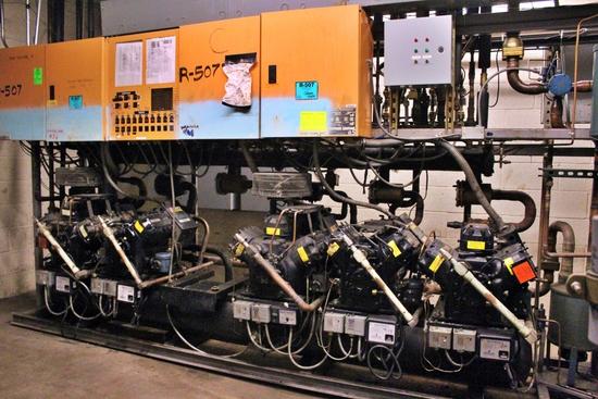 Kysor Warren Low/Med Temp Compressor Rack
