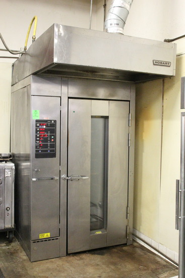 Hobart HBA1G Gas Single Rack Oven