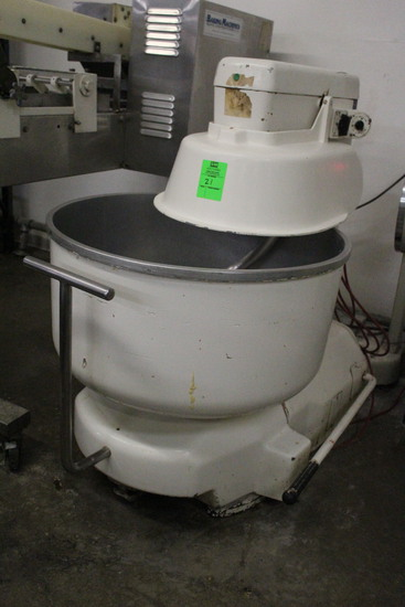 Unmarked Commercial Spiral Mixer