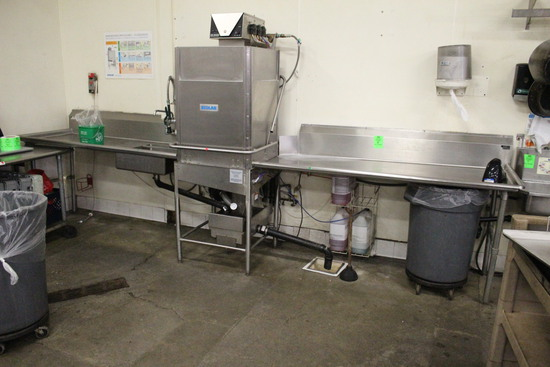 Commercial Dishwashing Sink Table (No Washer)