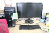 HP Pro Desktop PC W/ LG Monitor