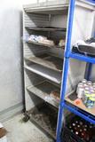 Racks Inside Of Walk-In Cooler