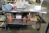 6' Stainless Steel Table On Casters
