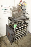 Stationary Channel Rack W/ Contents
