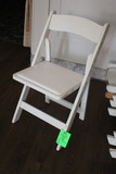 Padded Wooden Folding Chairs