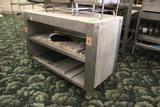 Metal Framed Work Table