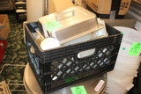 Crate Of Assorted Smallware