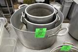 Assorted Stock Pots