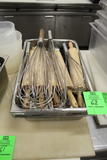 Stainless Inserts W/ Rolling Pins And Whisks