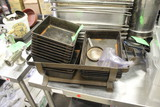 """Chaffing Dish Stand W/ 8x10"""" Pans"""