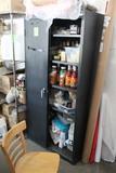 Metal Cabinet (Missing One Door)