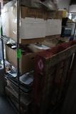 4' Metro Rack W/ Chaffing Dishes