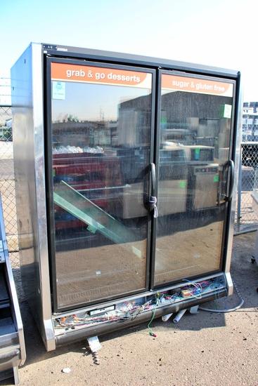 2009 Hussmann RLN-2 Low Temp Case