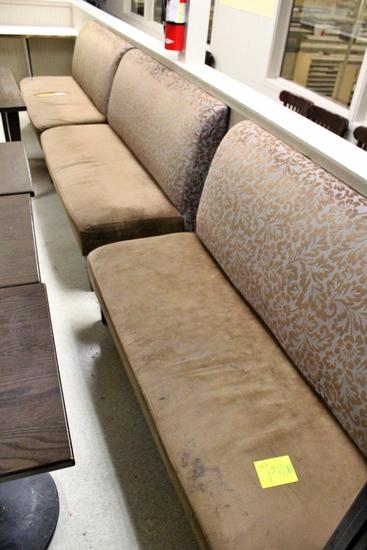 5' Wide Single Cushion Seats