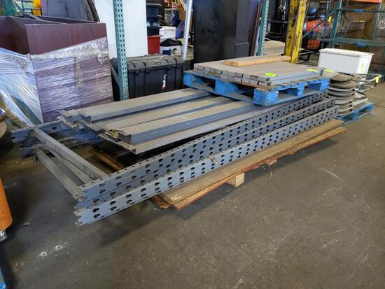 Group of pallet racking